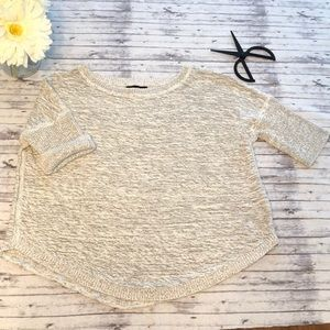 Banana Republic • short sleeve sweater
